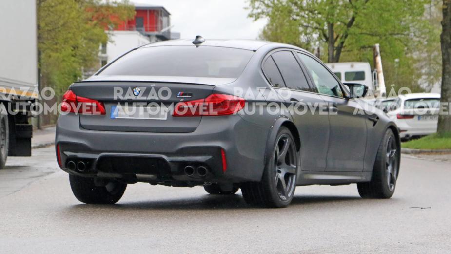 BMW M5 foto-espias