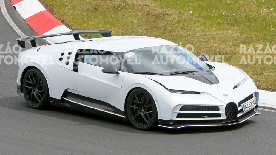 fotos-espia Bugatti Centodieci