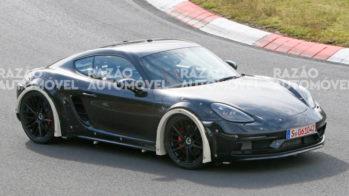 fotos-espia Porsche-Cayman mula de testes