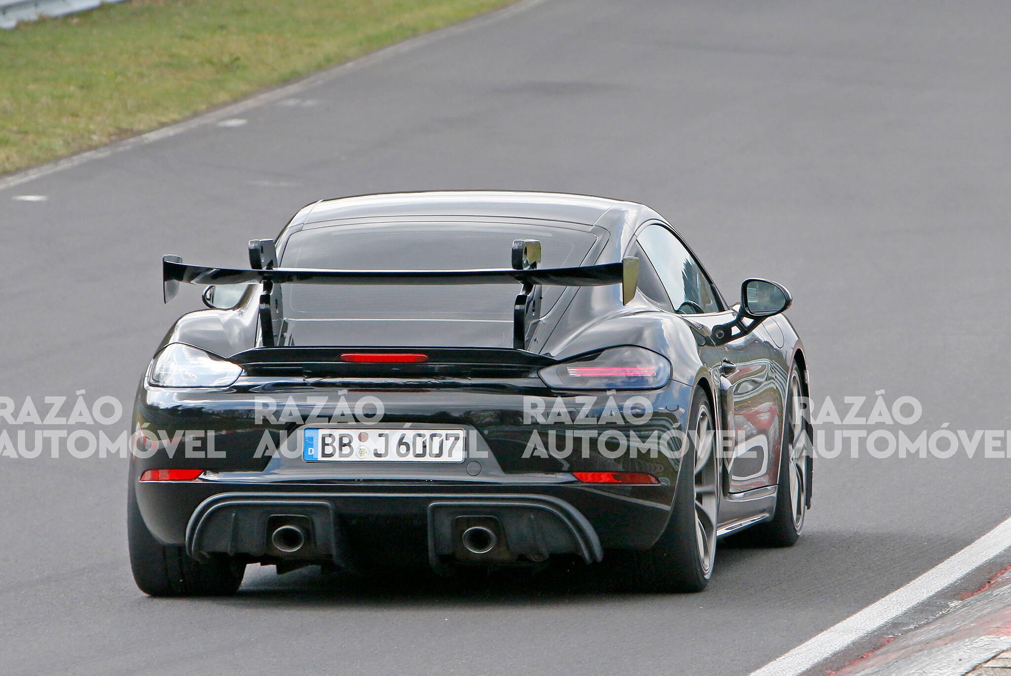 Porsche 718 Cayman GT4 RS fotos-espia