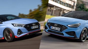 Hyundai i20 N e Hyundai i30 N