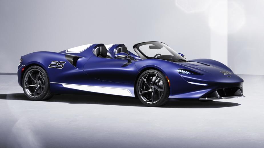 McLaren Elva para-brisas