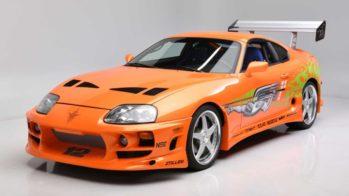 Toyota supra velocidade furiosa