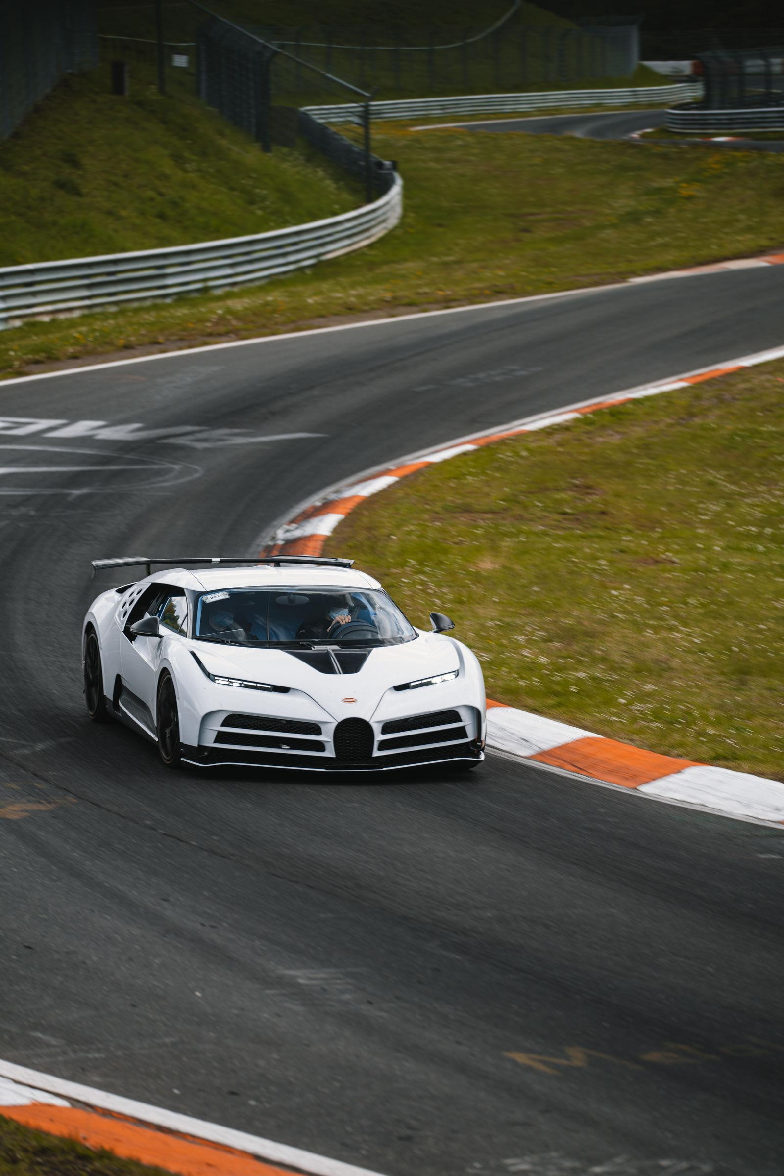 Bugatti Centodieci Nürburgring