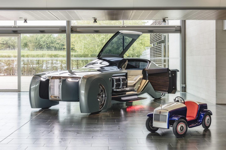 Rolls-Royce-SRH crianças
