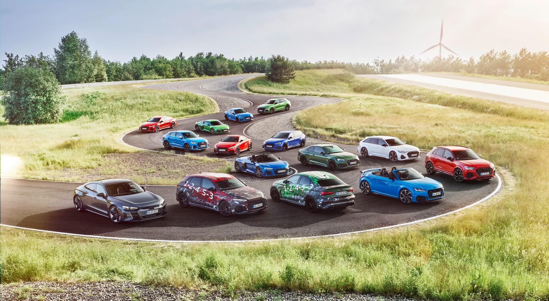 Audi Sport gama com novos RS 3