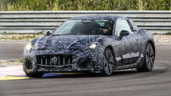 Maserati GranTurismo teaser 2022