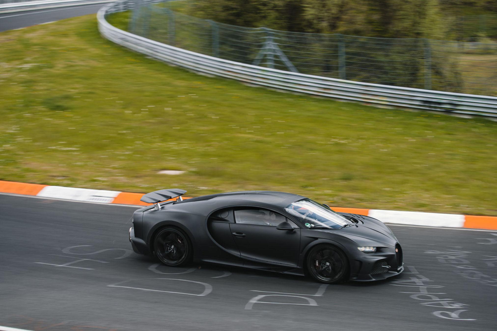 Bugatti Chiron Super Sport 300+ Nürburgring