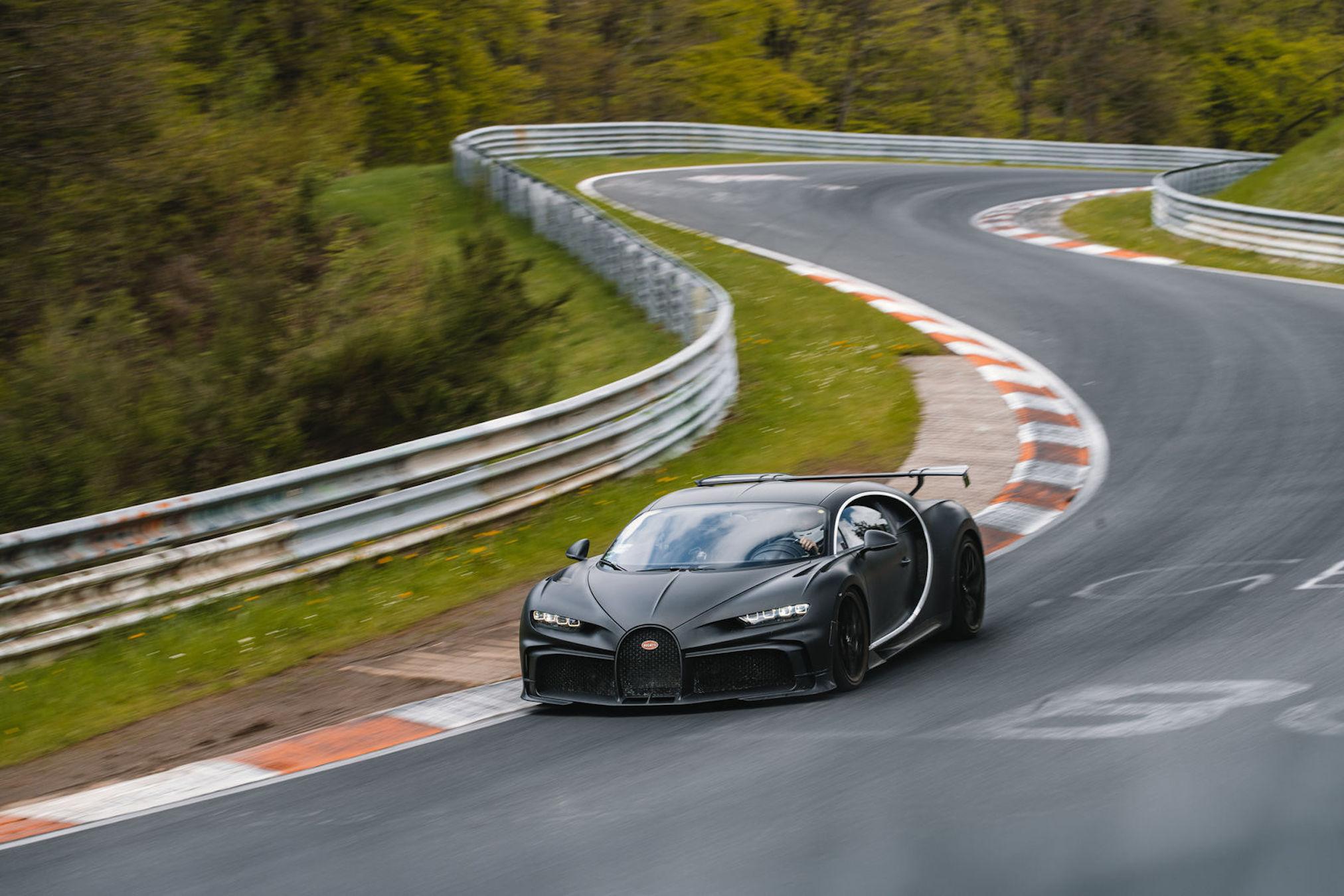 Bugatti Chiron Pur Sport Nürburgring