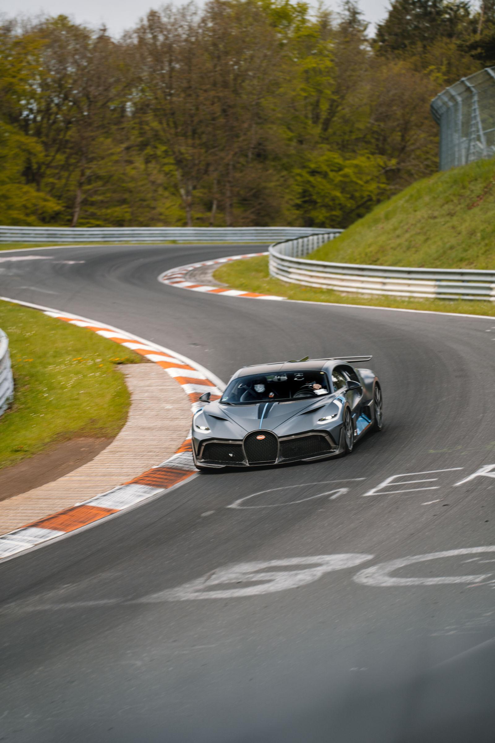 Bugatti Divo Nürburgring