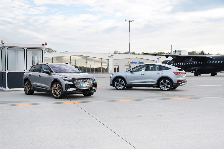 Audi Q4 e-tron e Audi Q4 e-tron Sportback