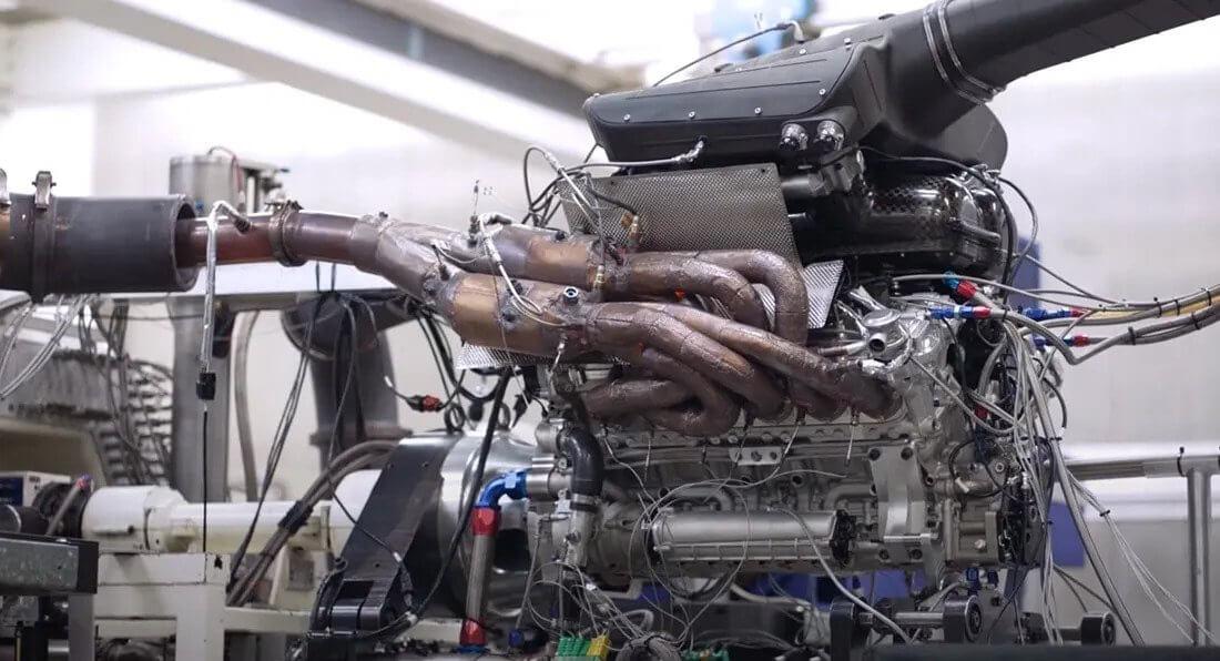 GMA T.50 motor
