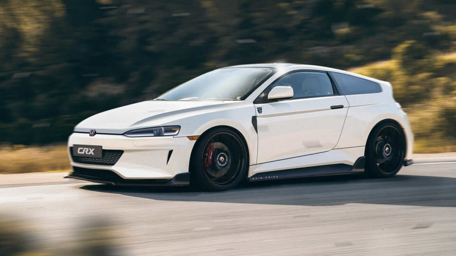 Honda CR-X Render
