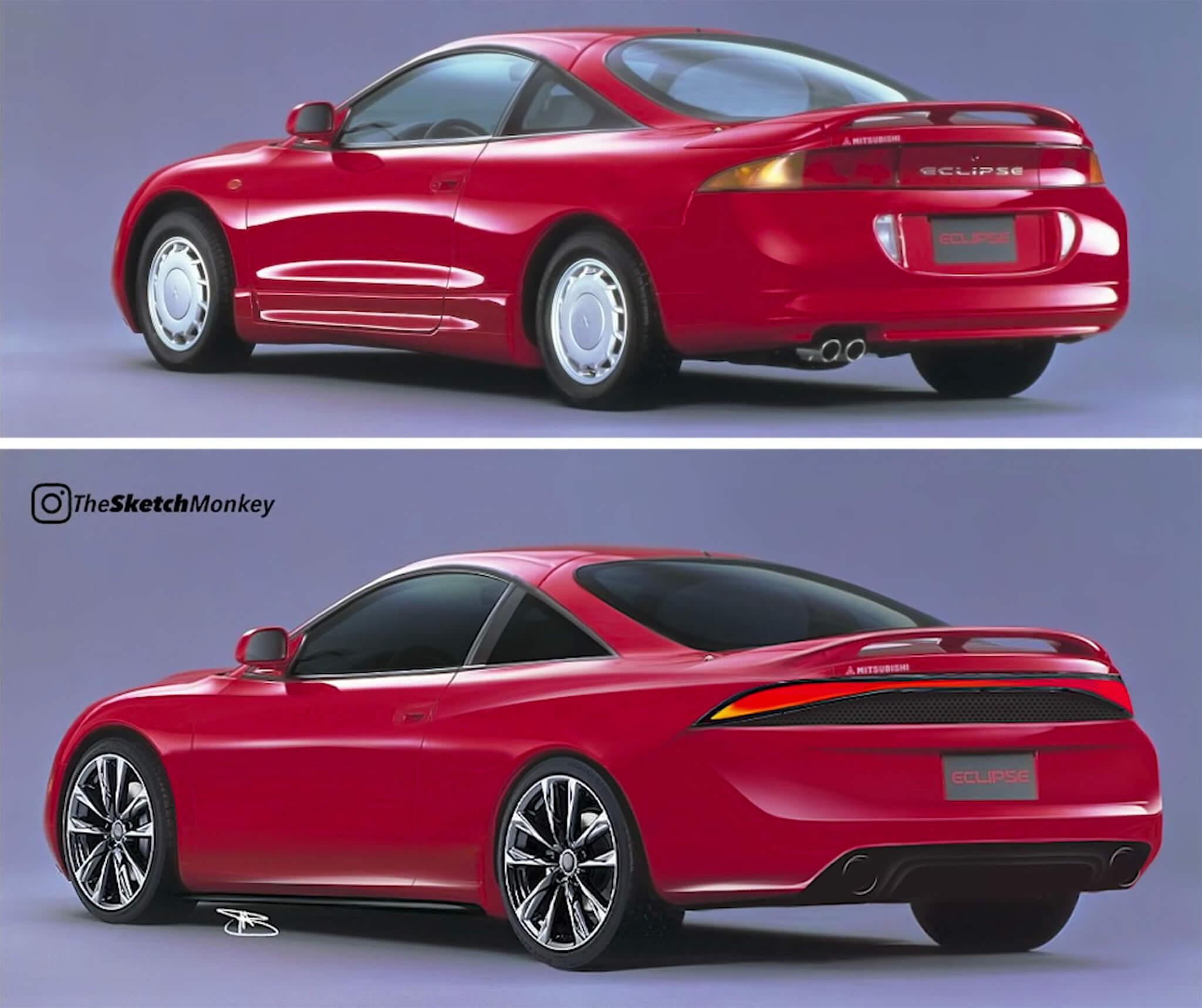 Mitsubishi Eclipse redesign