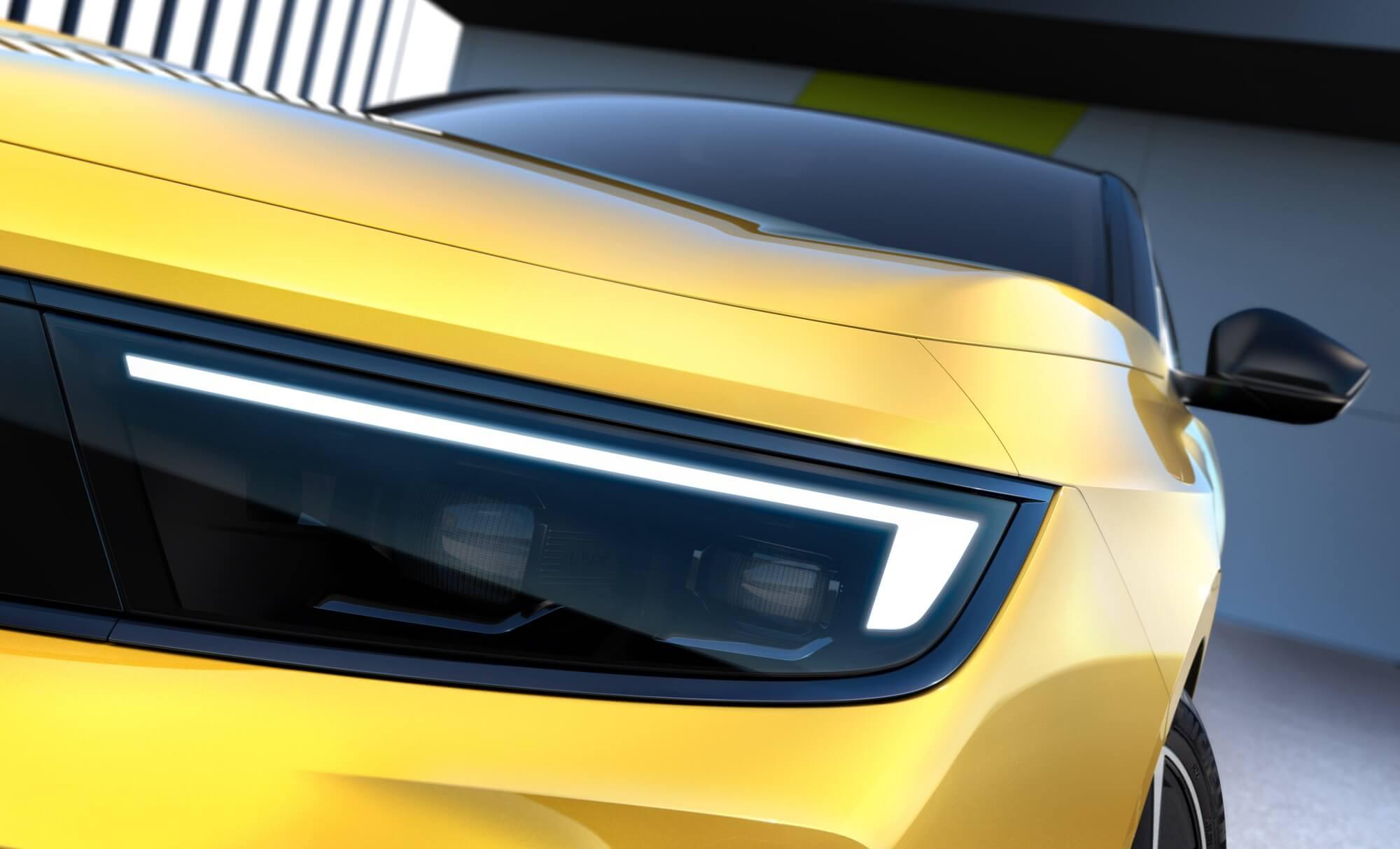 Teaser do novo Opel Astra