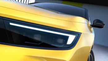 Teaser Opel Astra