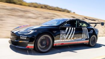 Tesla Model S Plaid Unplugged Performance