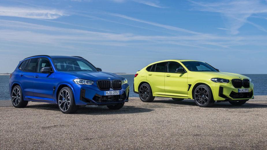 BMW X3 M, BMW X4 M