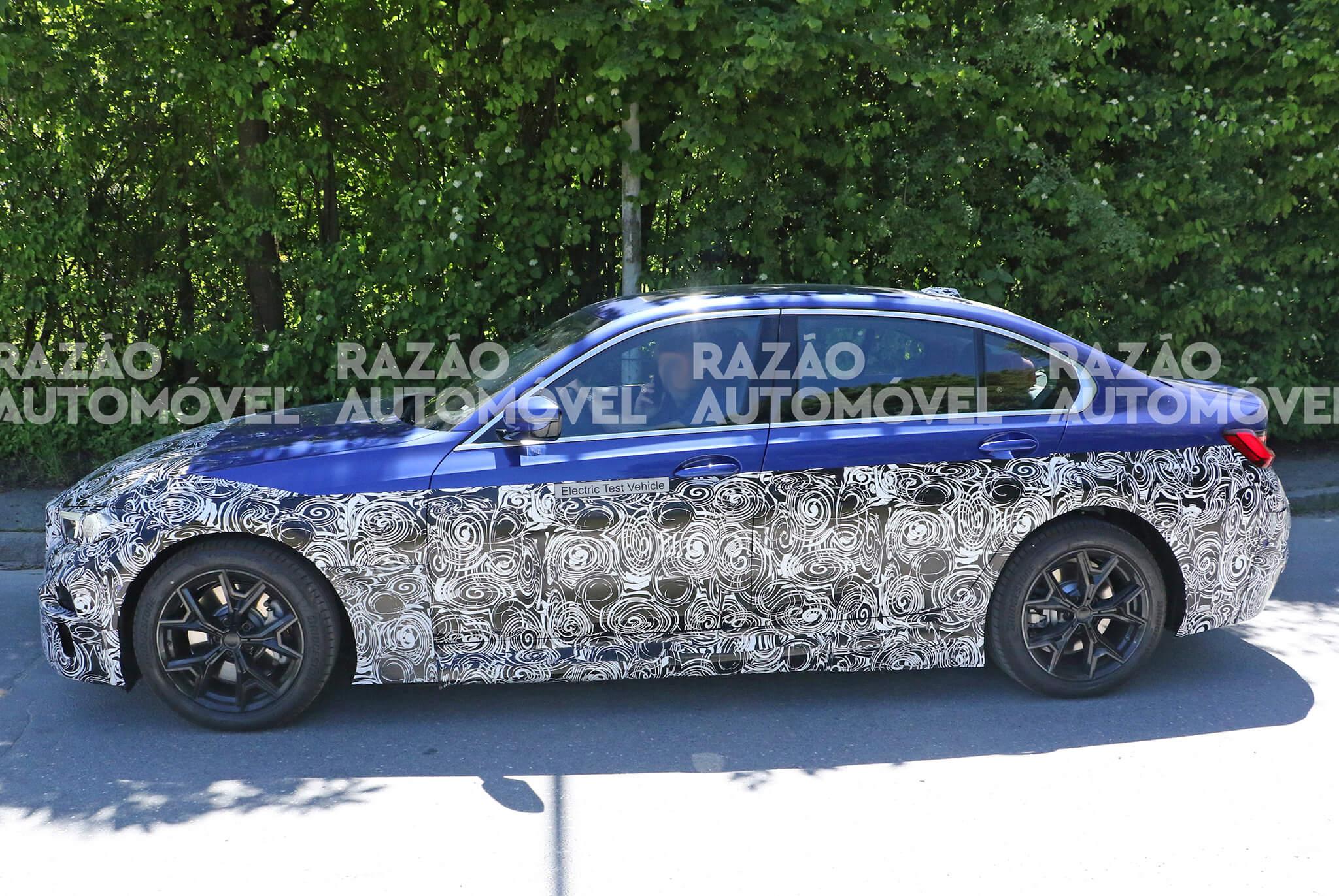 Fotos-espia BMW Série 3 elétrico