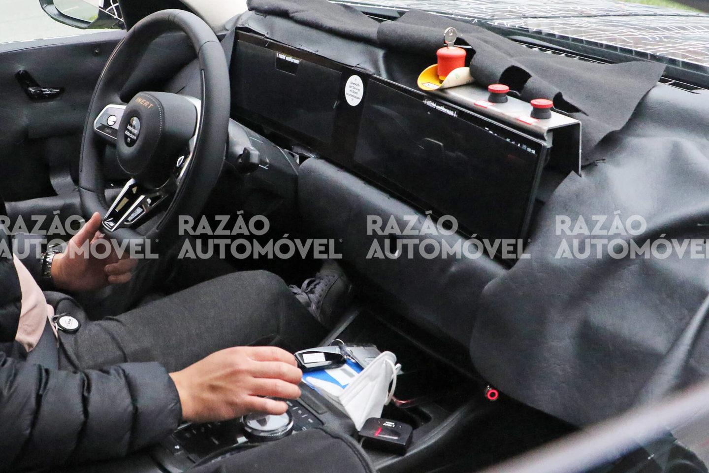 BMW Série 7 fotos-espia