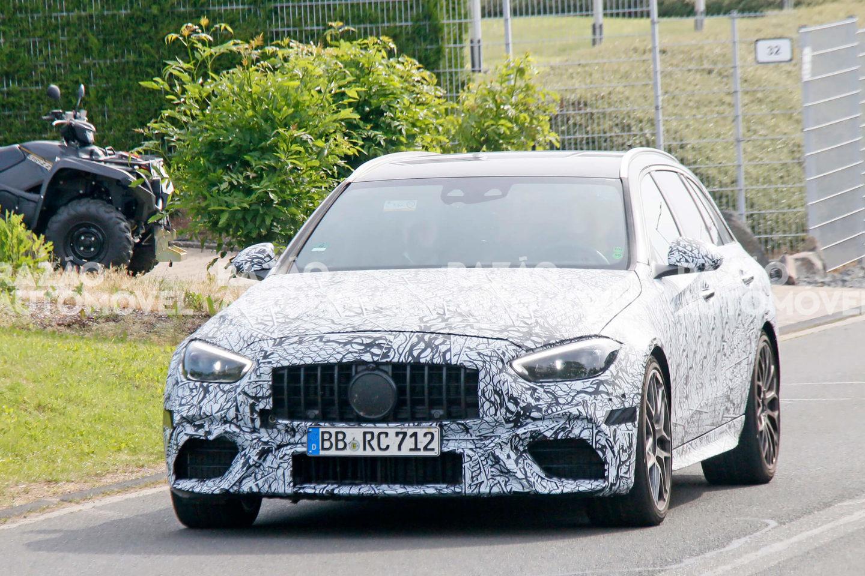 fotos-espia Mercedes-AMG C 63 T