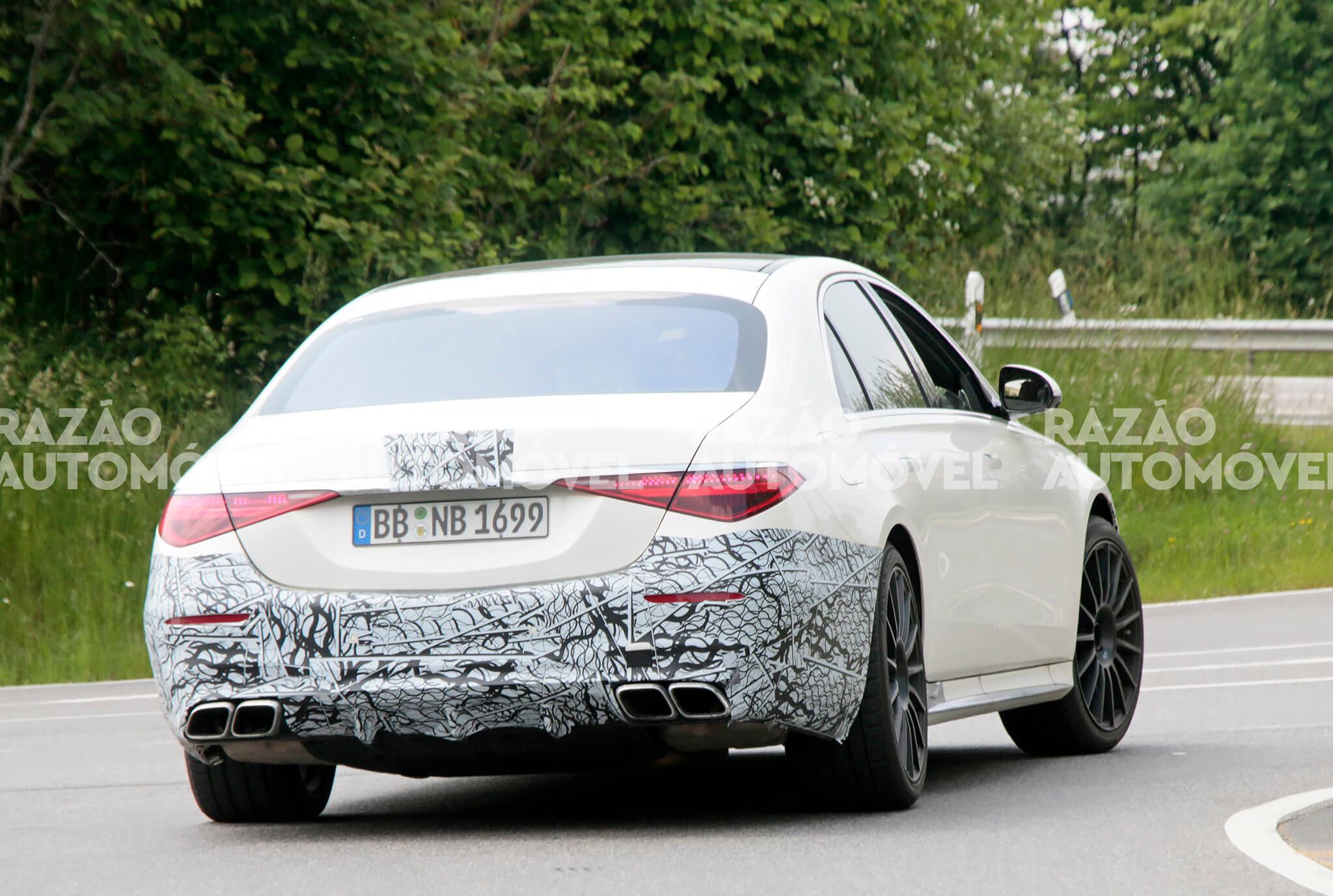 Fotos-espia Mercedes-AMG S 63e