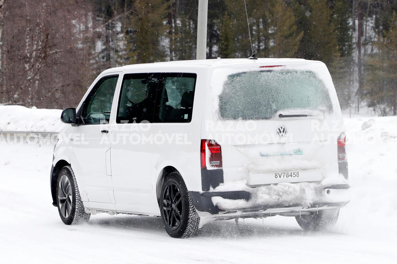 Volkswagen ID. Buzz fotos-espia