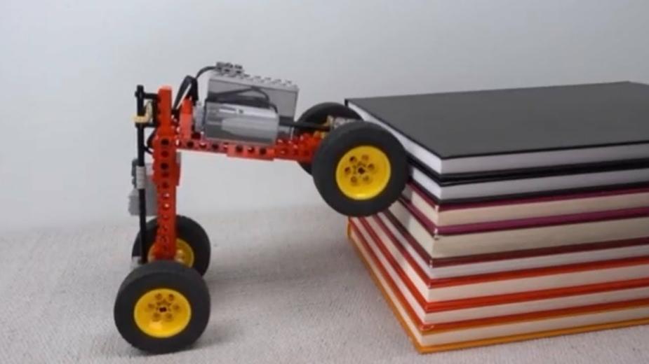 Lego trepador obstáculos