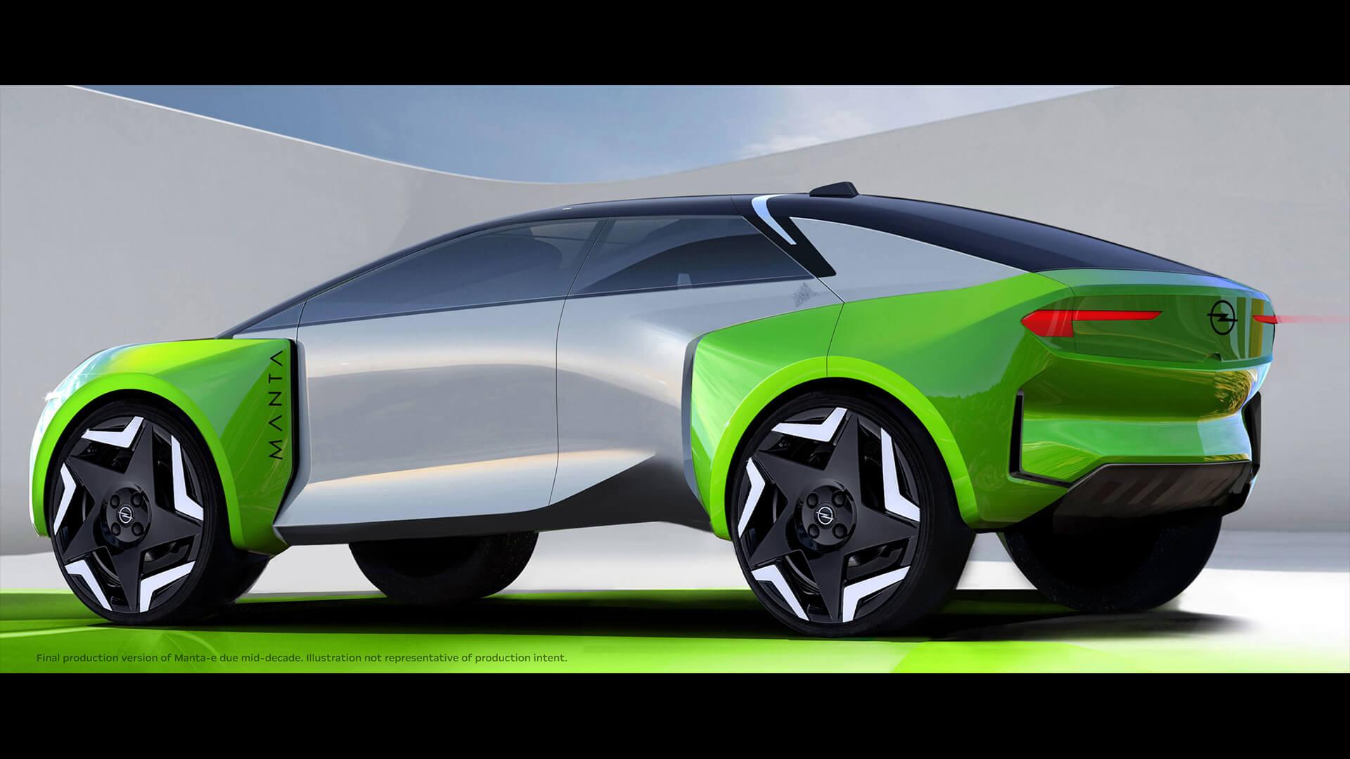 Opel e-Manta