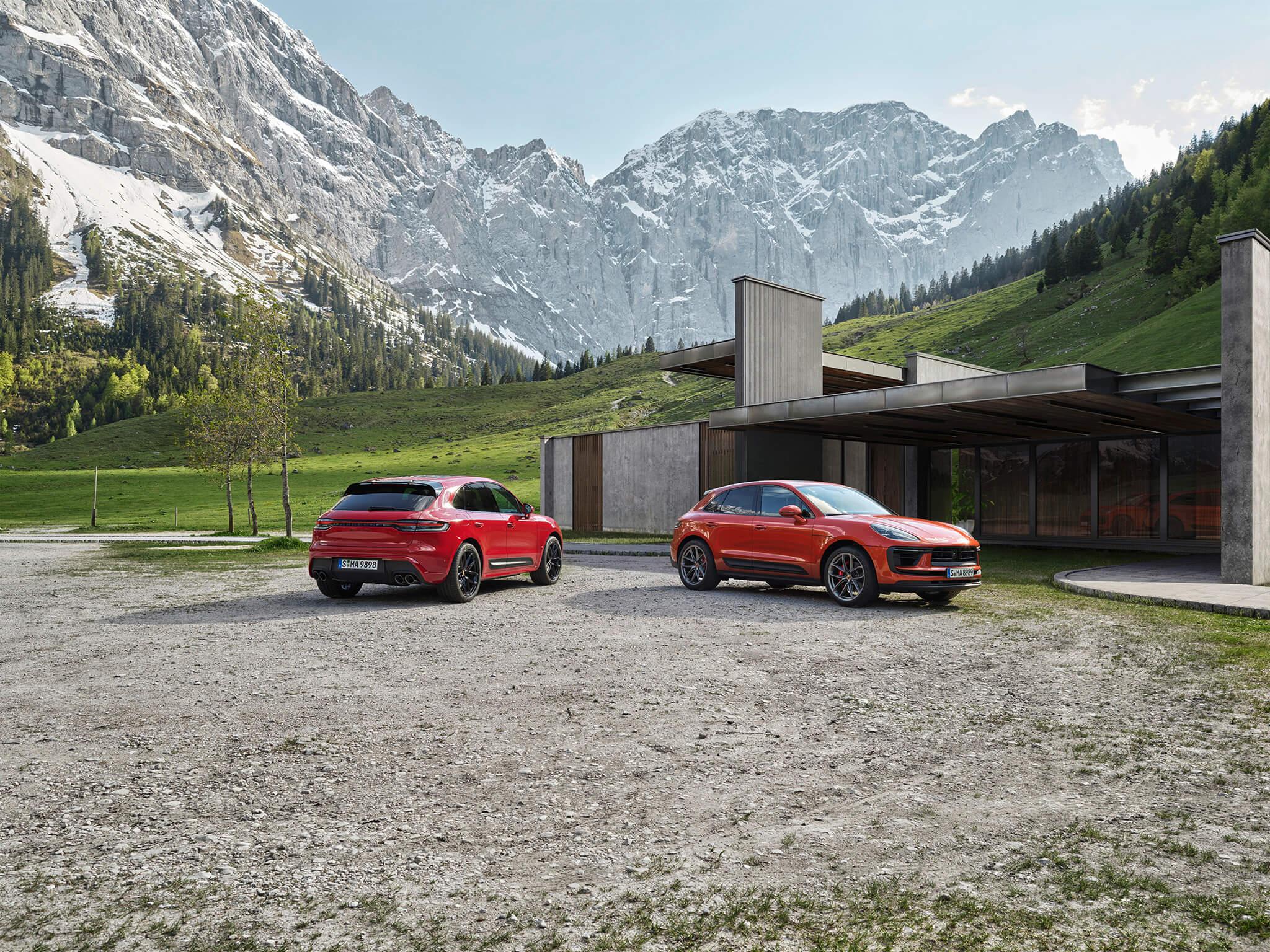 Porsche Macan GTS e Macan S 2022