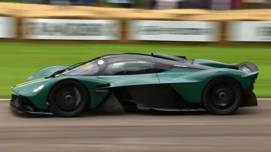 Aston Martin Valkyrie no Goodwood Festival of Speed 2021