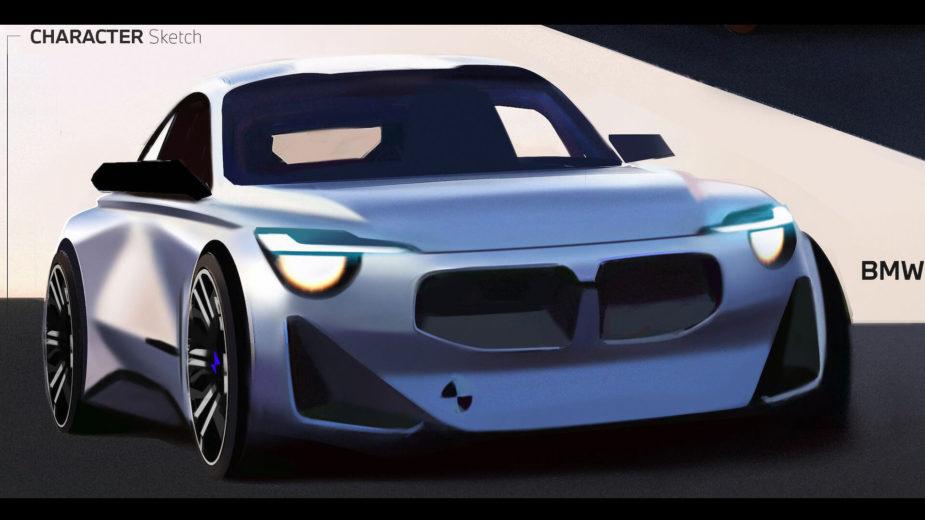 BMW Série 2 Coupé G42 sketch
