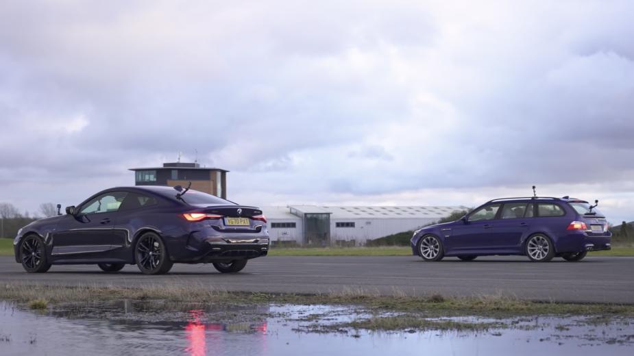 Drag Race BMW m440i vs M5 Touring (e61)
