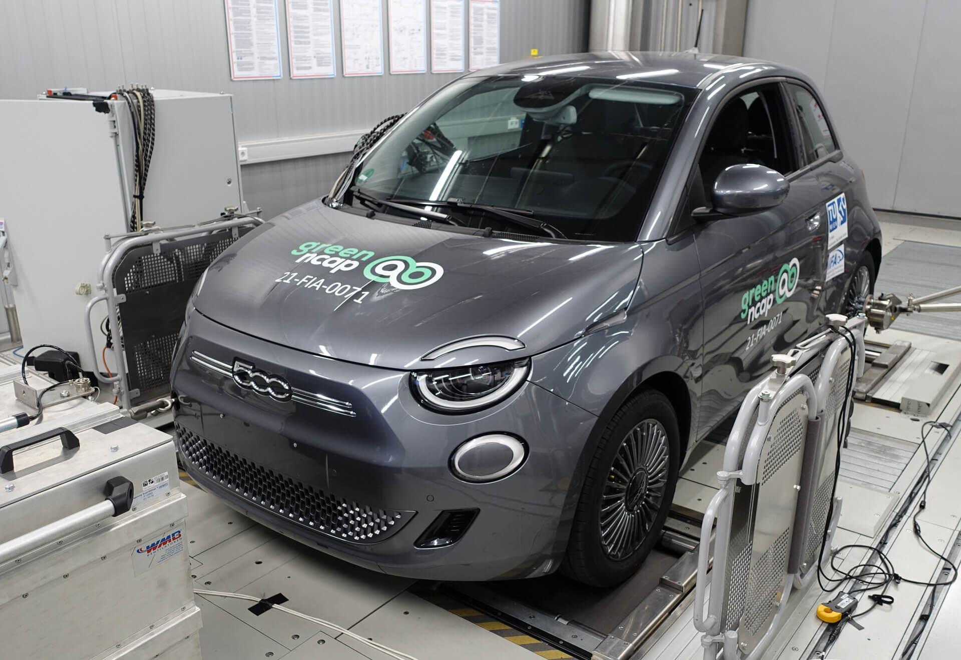 Fiat 500 Green NCAP