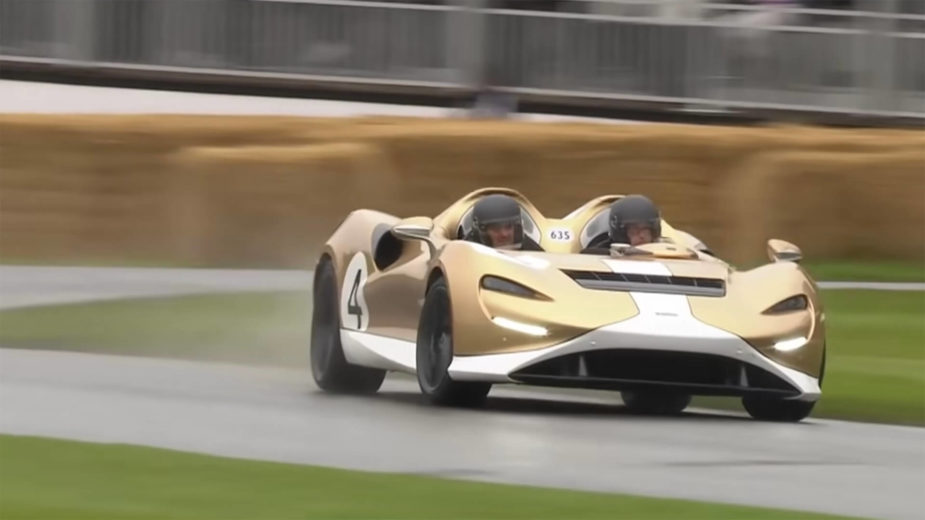 McLaren Elva no Goodwood FOS 2021