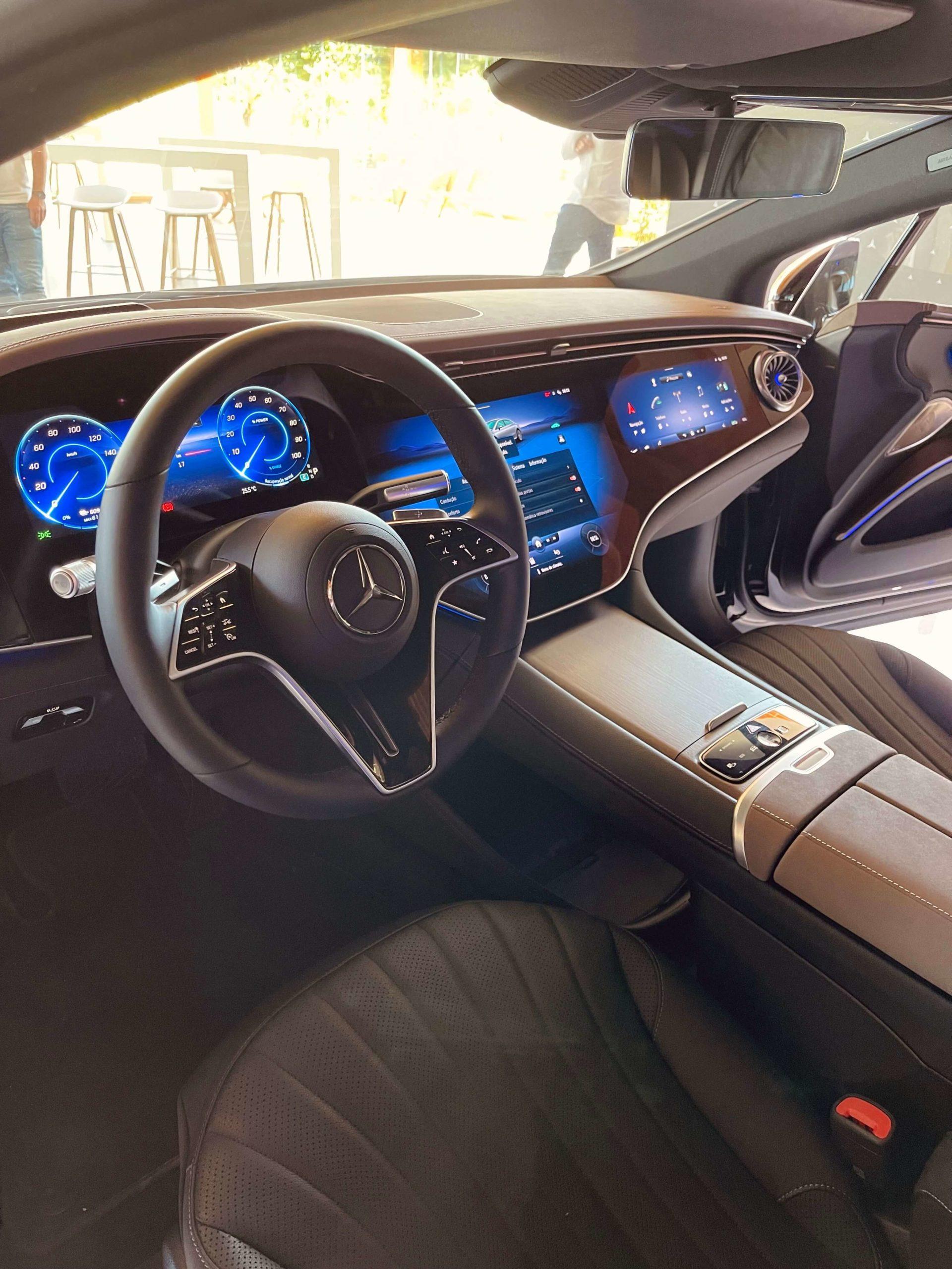 Mercedes-Benz EQS interior