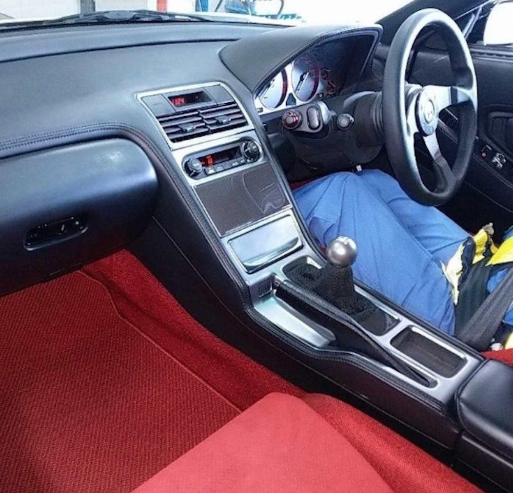 Honda NSX_R interior
