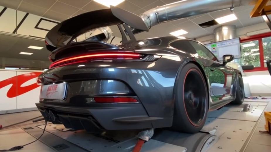 Porsche 911 gt3 banco de potência