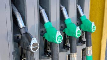 Posto combustível diesl gasolina