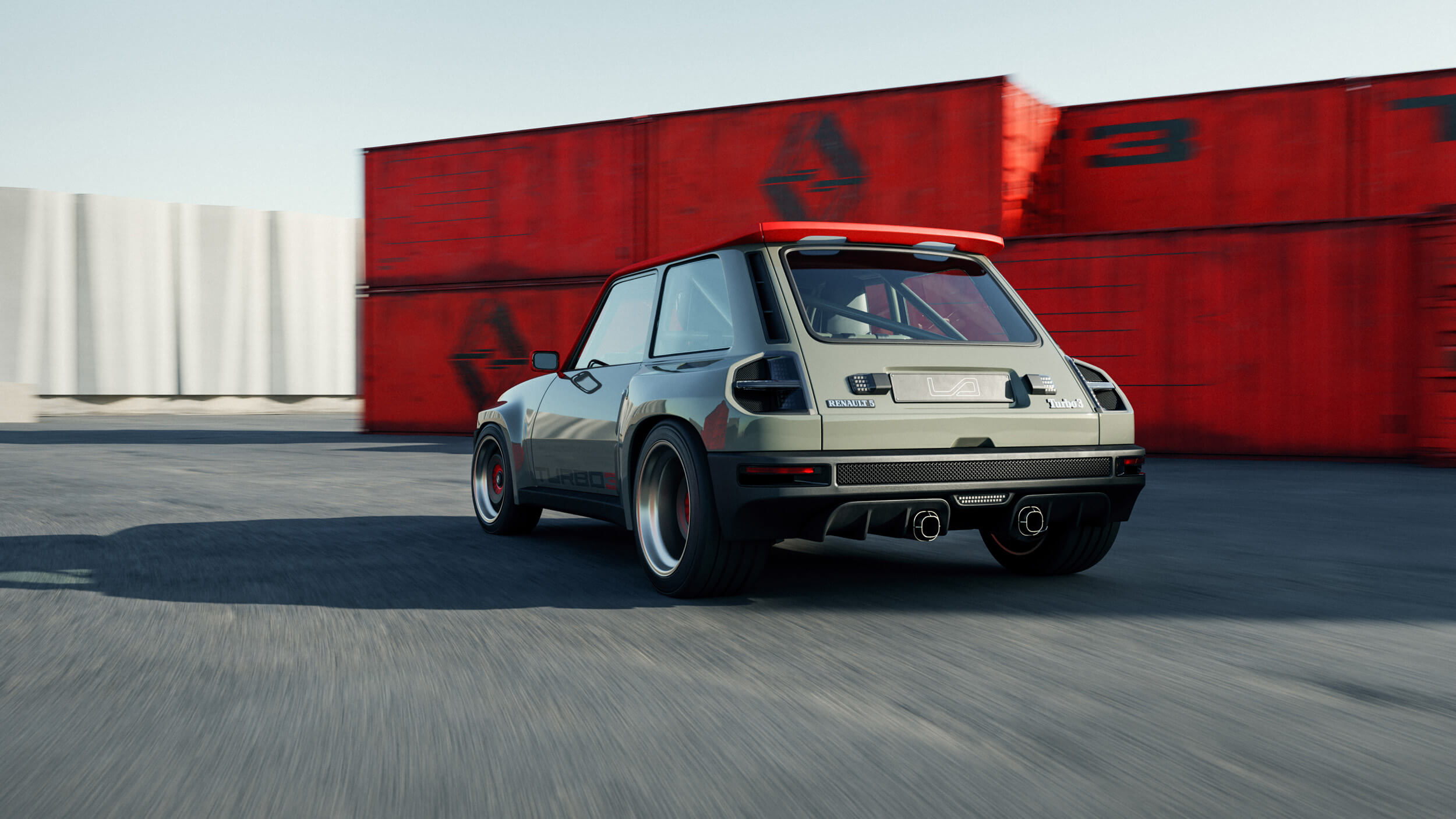 Renault 5 turbo 3 5