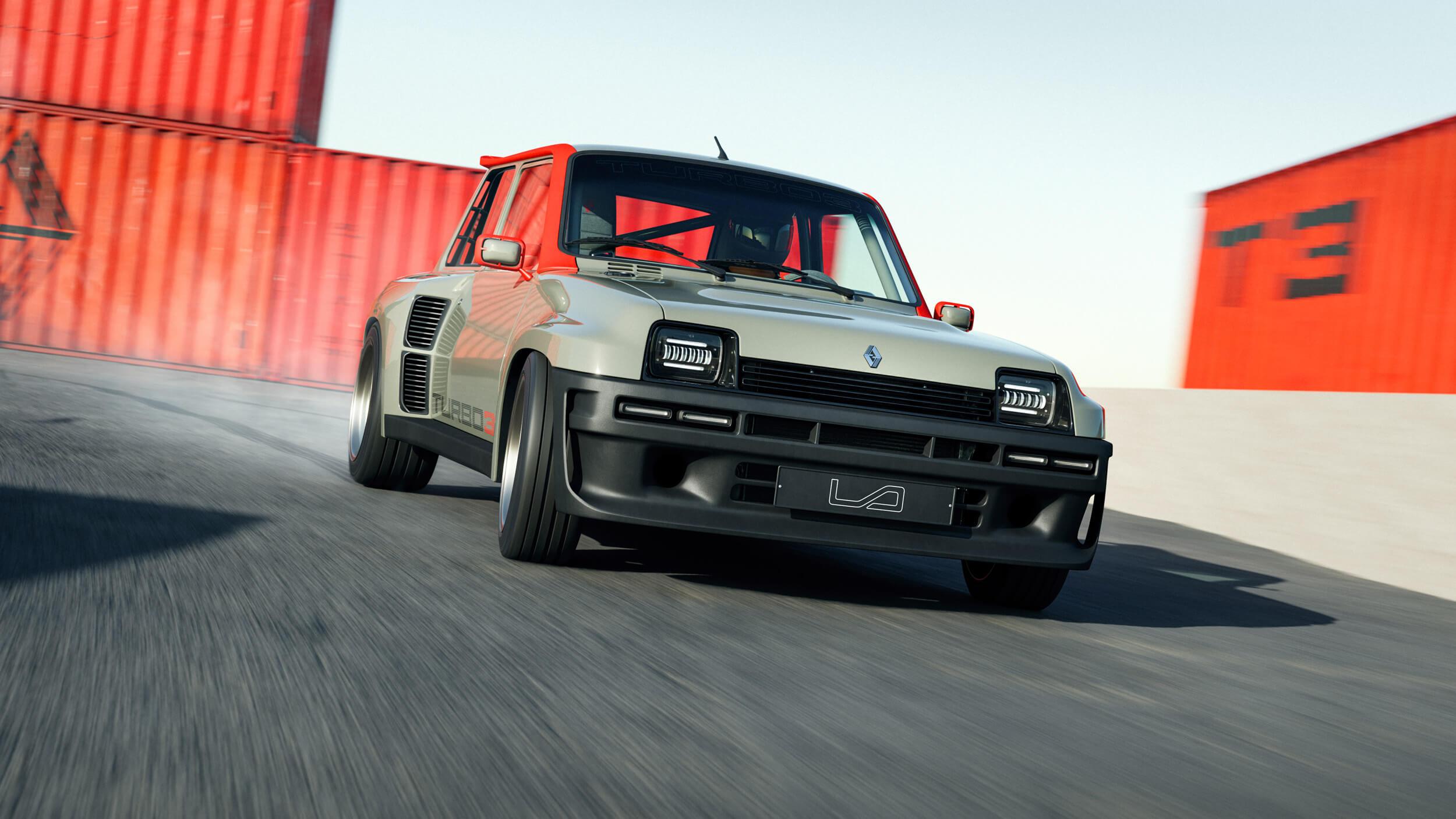 Renault 5 turbo 3 6