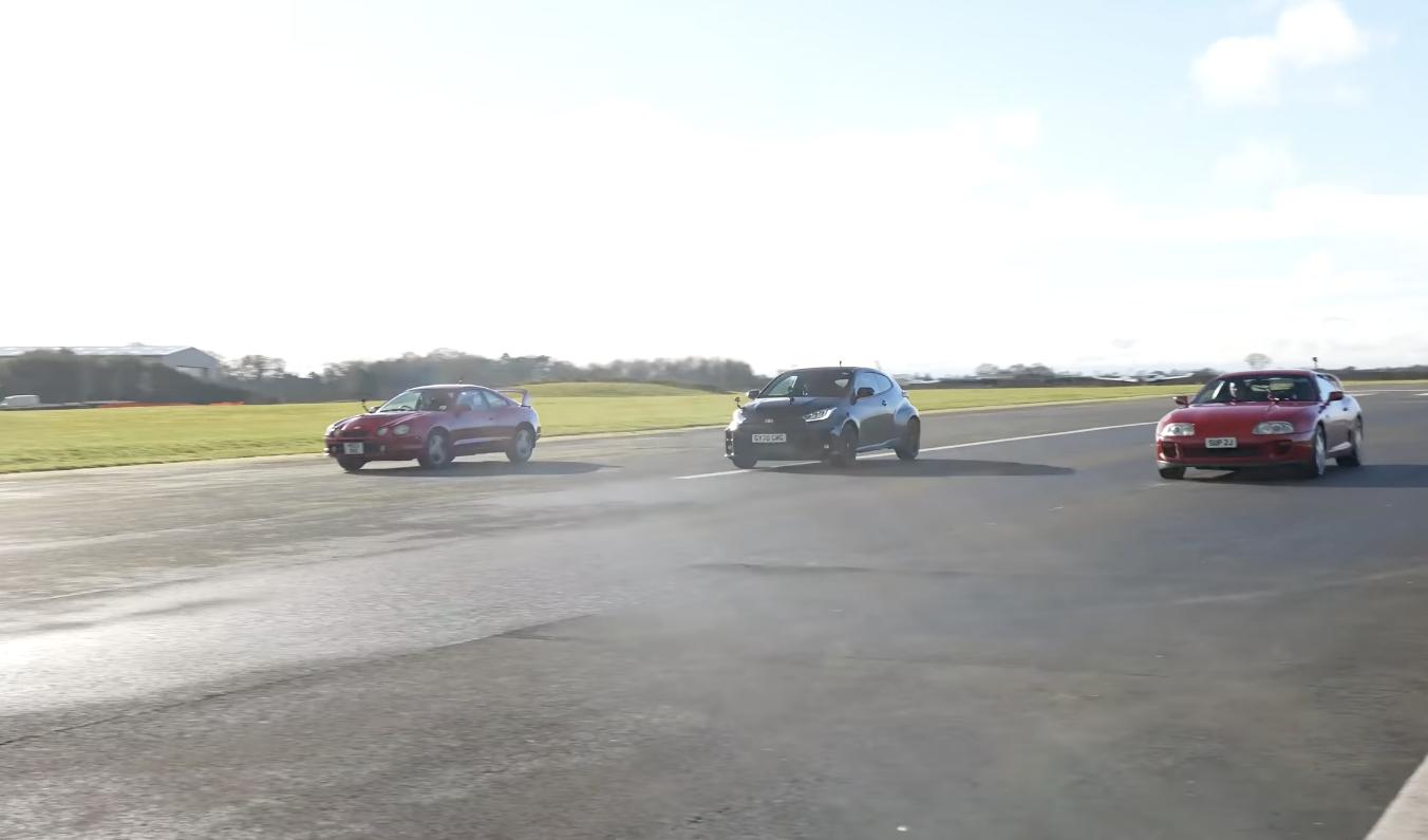 Supra, Celica GT-Four e GR Yaris Toyota 2