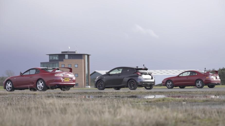 Supra, Celica GT-Four e GR Yaris Toyota