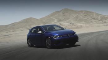 VW Golf R Drift