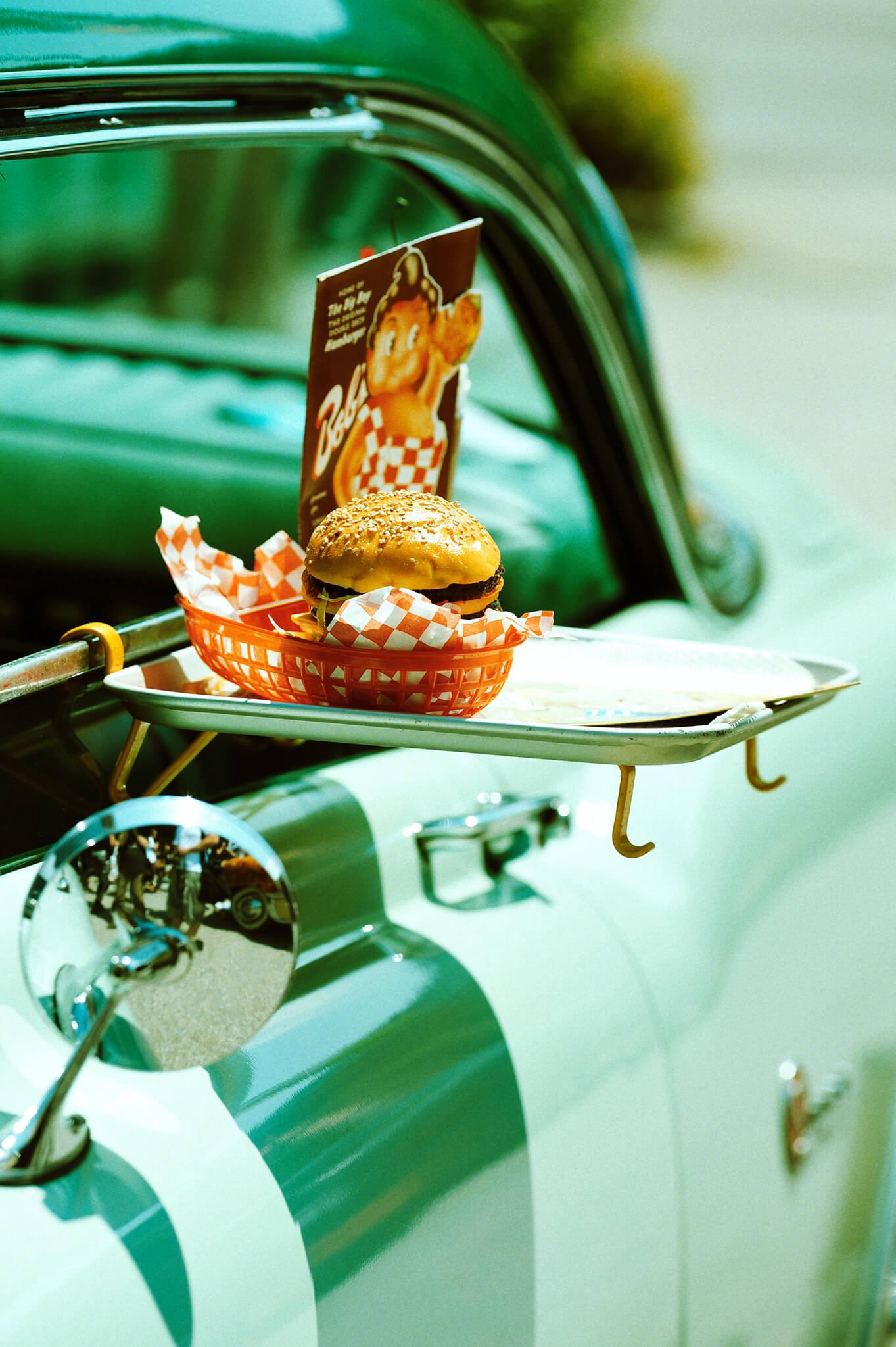 Comida no carro