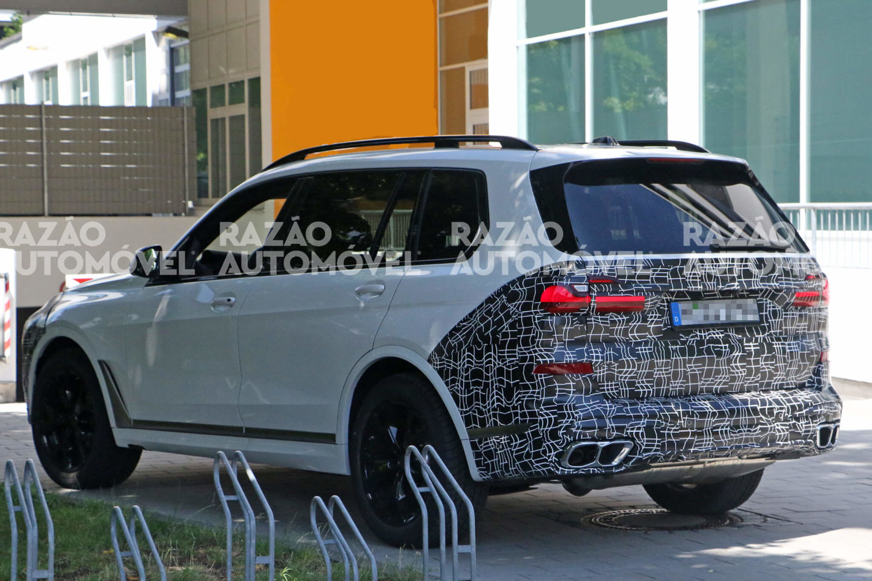 BMW X7 fotos-espia