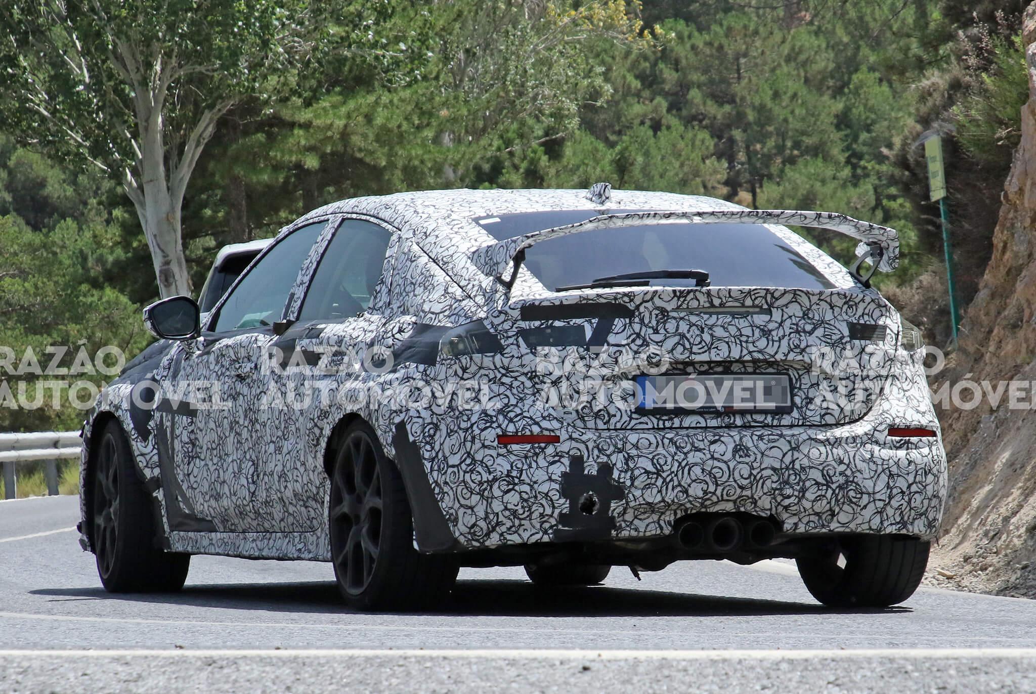 Fotos-espia Honda Civic Type R