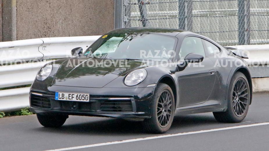 fotos-espia Porsche 911 Safari