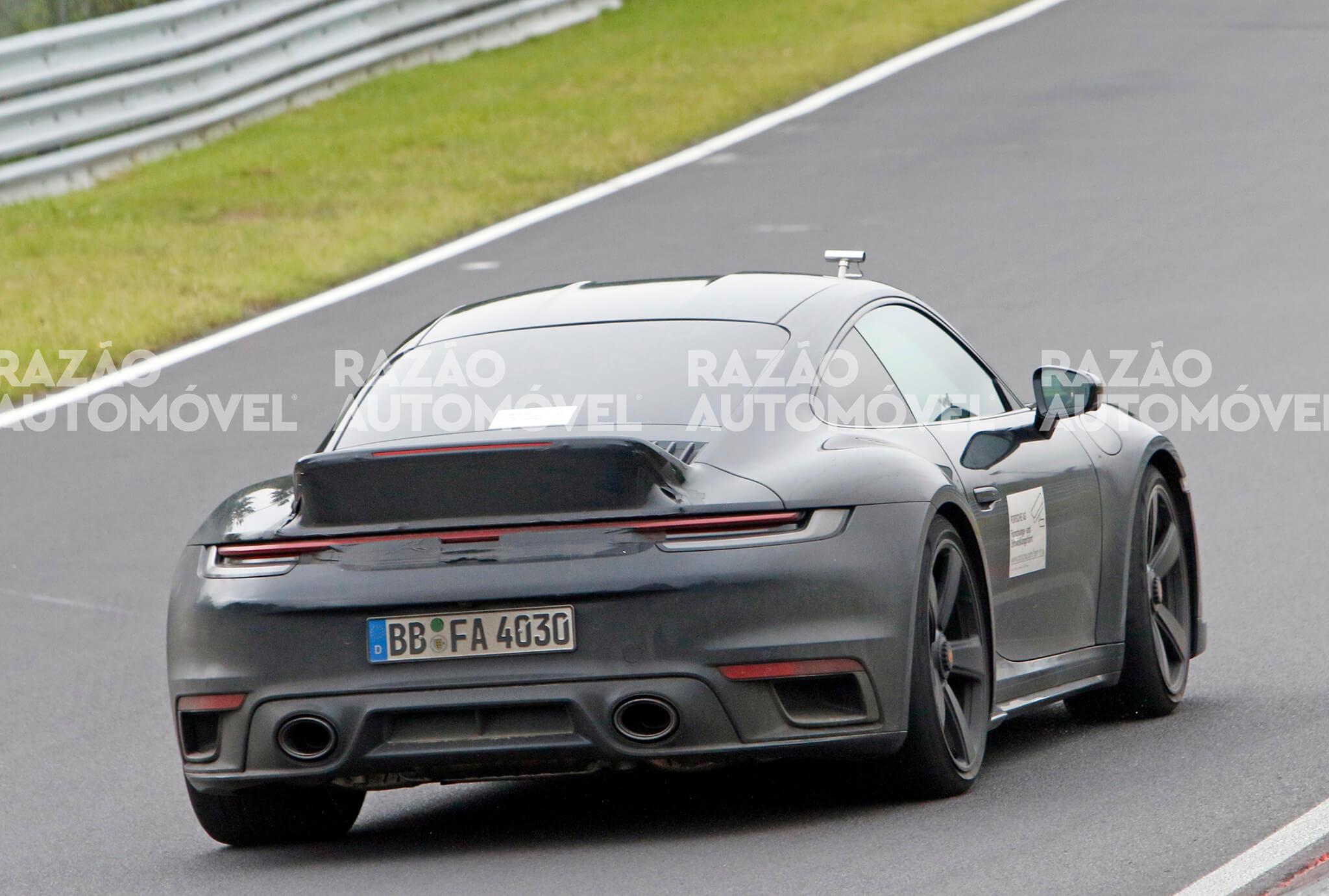 Porsche 911 Sport Classic fotos-espia