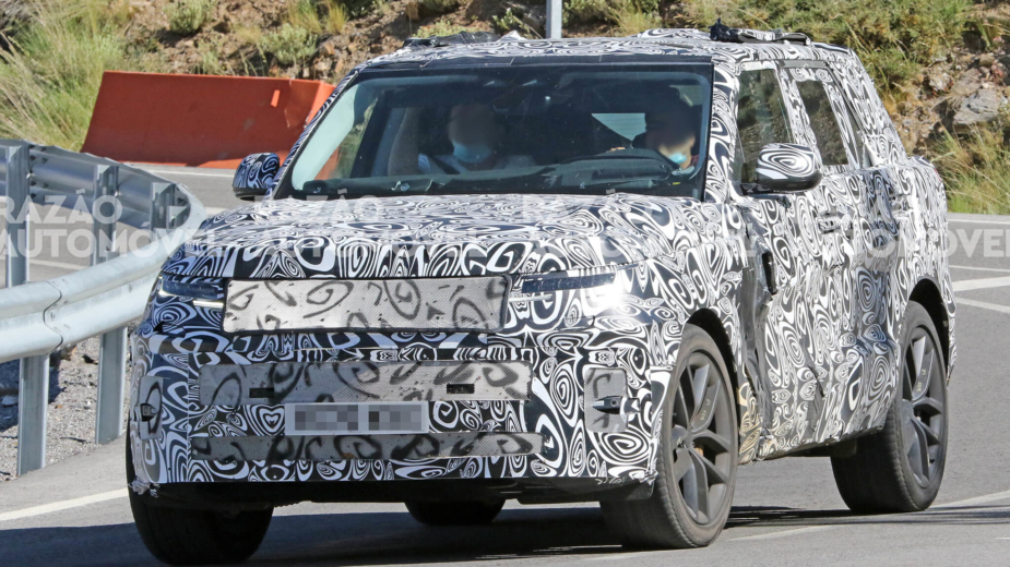 fotos-espia Range Rover Sport 2